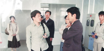 Japanese Customer Factory Review(p-Benzoquinone Dioxime,boron)