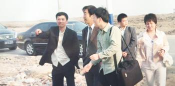 Chairman exchange with Japanese customer